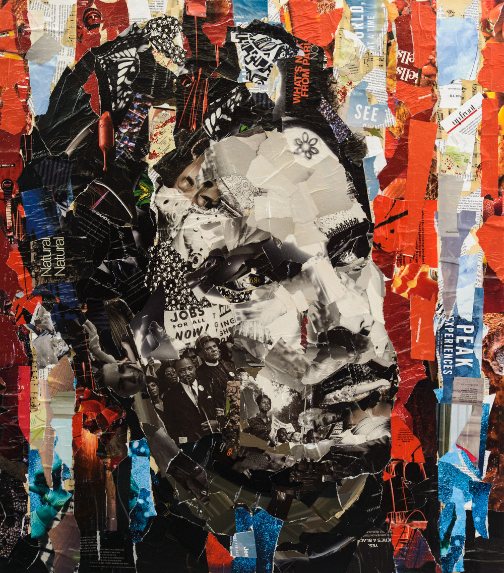 "Jeff Huntington, ""Huey P. Newton Behind Bars"" (2014)"