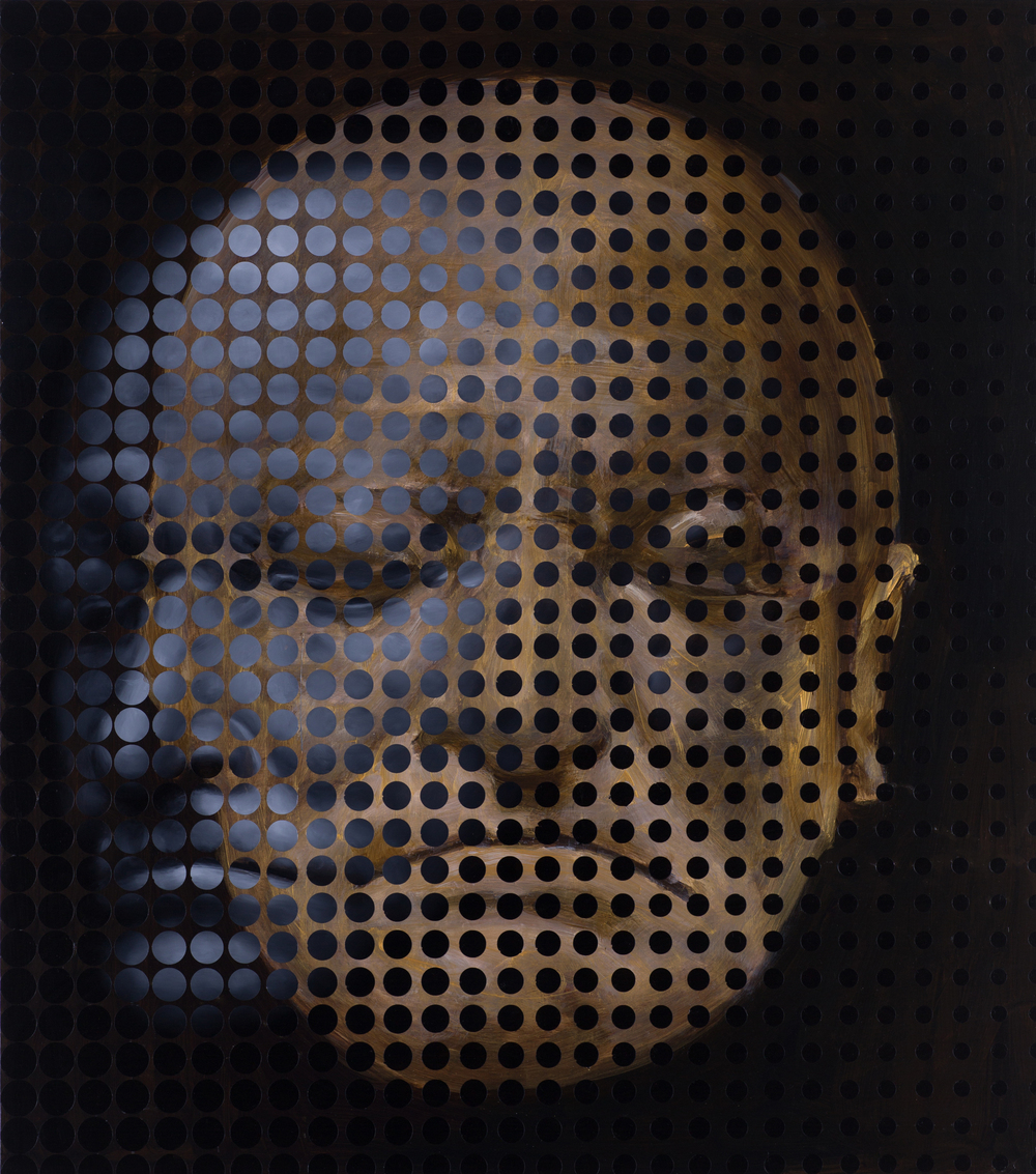 "Jeff Huntington, ""William Blake Death Mask"" (2015)"