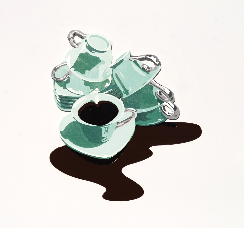 "Lori Larusso, ""Coffee and Heartbreak (First World Problems)"" (2014)"
