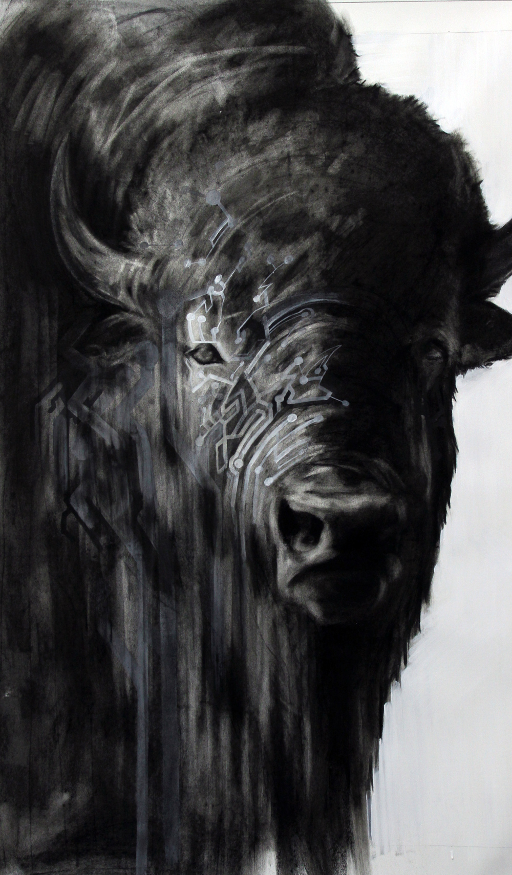"Jennifer Murray, ""Circuit Bison"" (2012)"