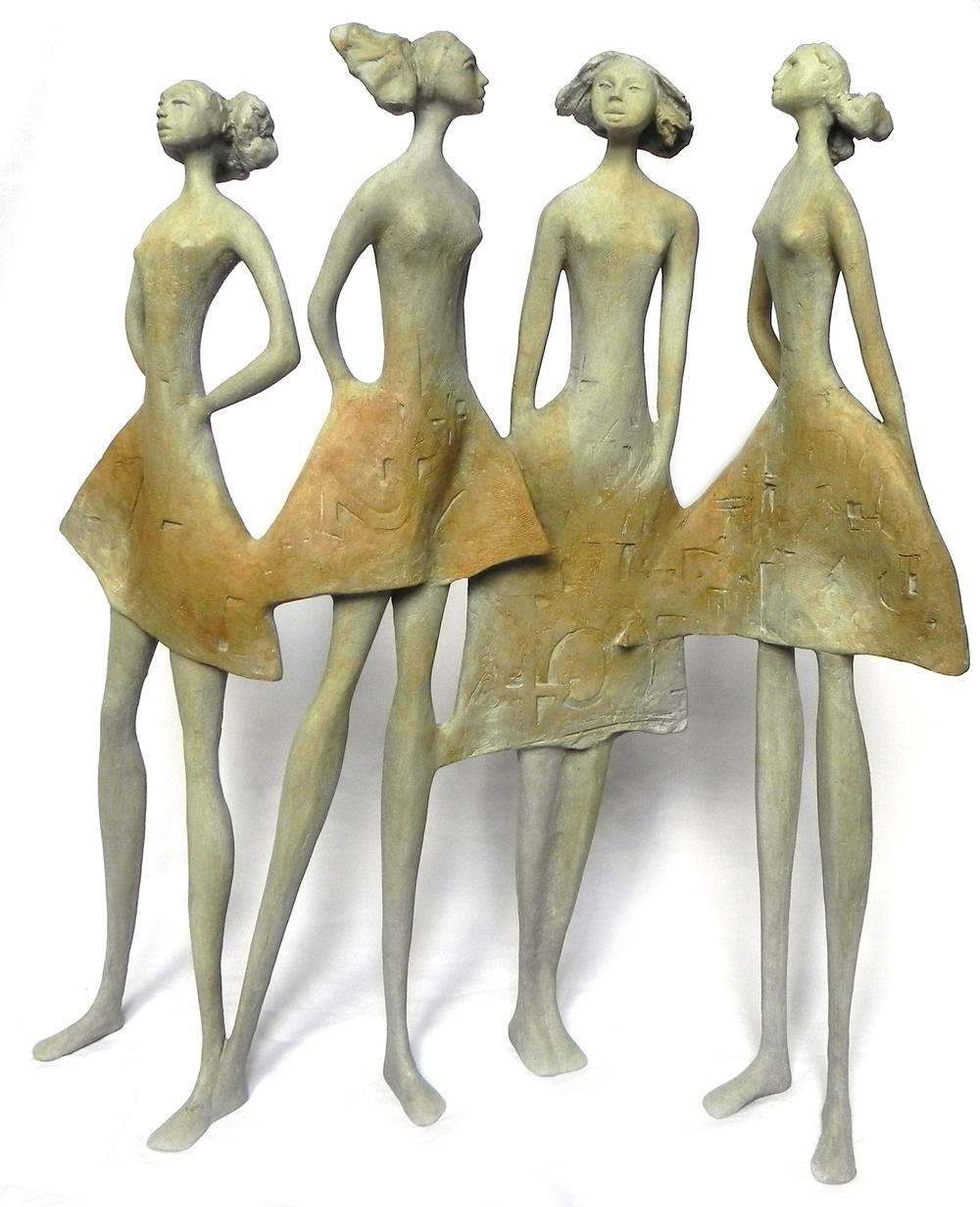 """Carolina Rodriguez Baptista, """"Cuatro Amigas"""" (2012)"""