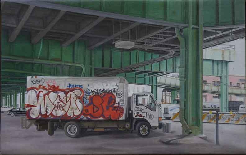 "Laura Shechter, ""Under the BQE"" (2014)"