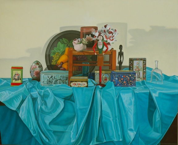 "Laura Shechter, ""Still Life with 11 Figures"" (2011)"