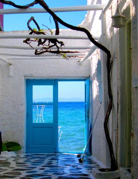 "Daina Falk, ""Mykonos Door"""
