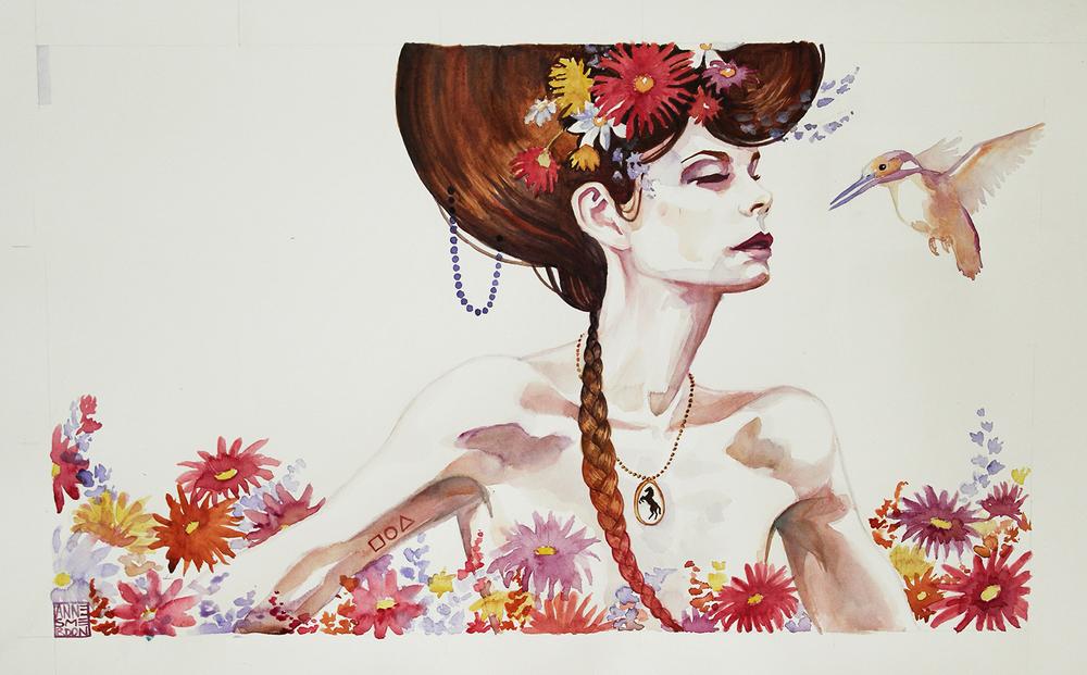 """Anne Smerdon, """"She Wears Her Mother's Locket"""" (2012)"""