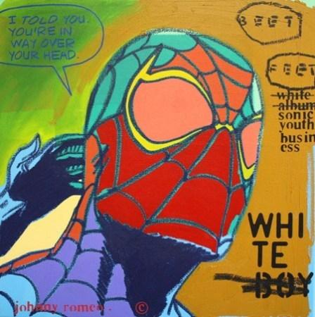 JohnnyRomeo_Beet Feet_2010_acrylic and oil on canvas_24-x24.jpg