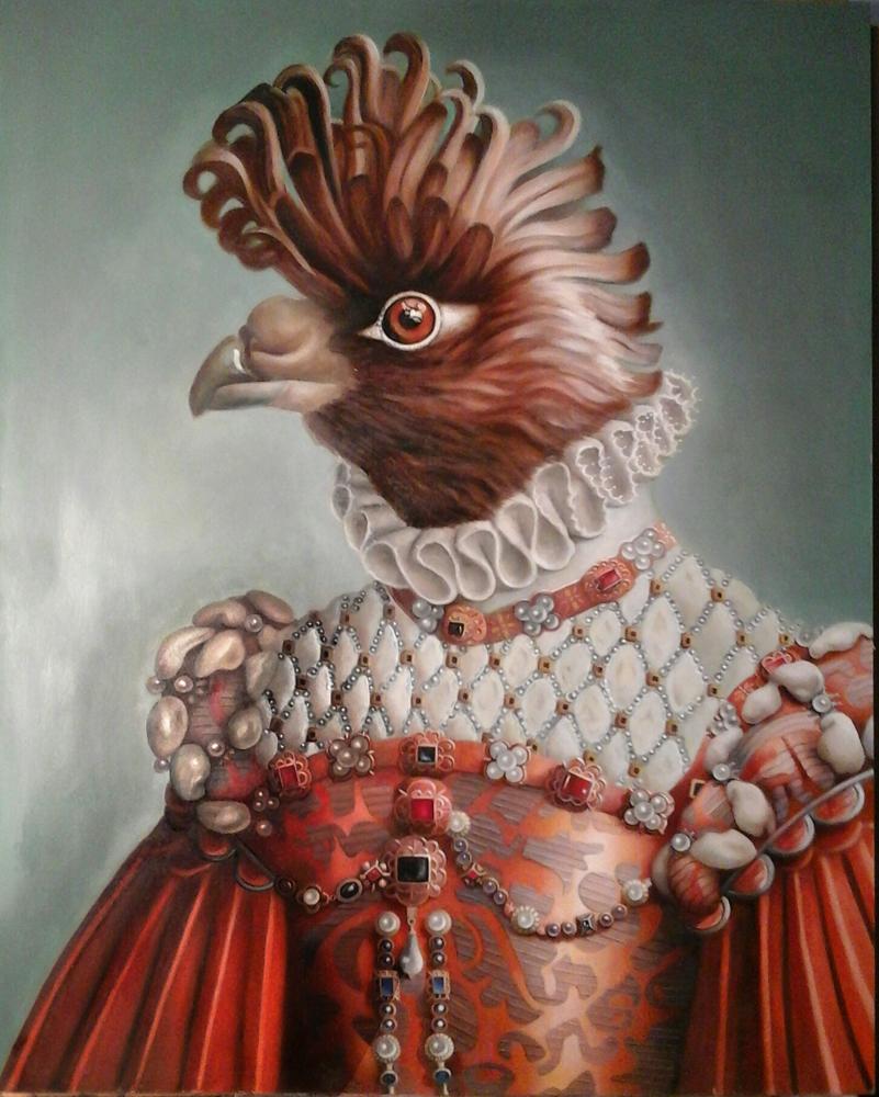 """Amy Hill, """"Cockasure"""" (2015)"""