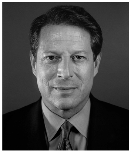 "Chuck Close, ""Al Gore"" (2009), Digital C-print, Edition of 100, 24"" x 20"""