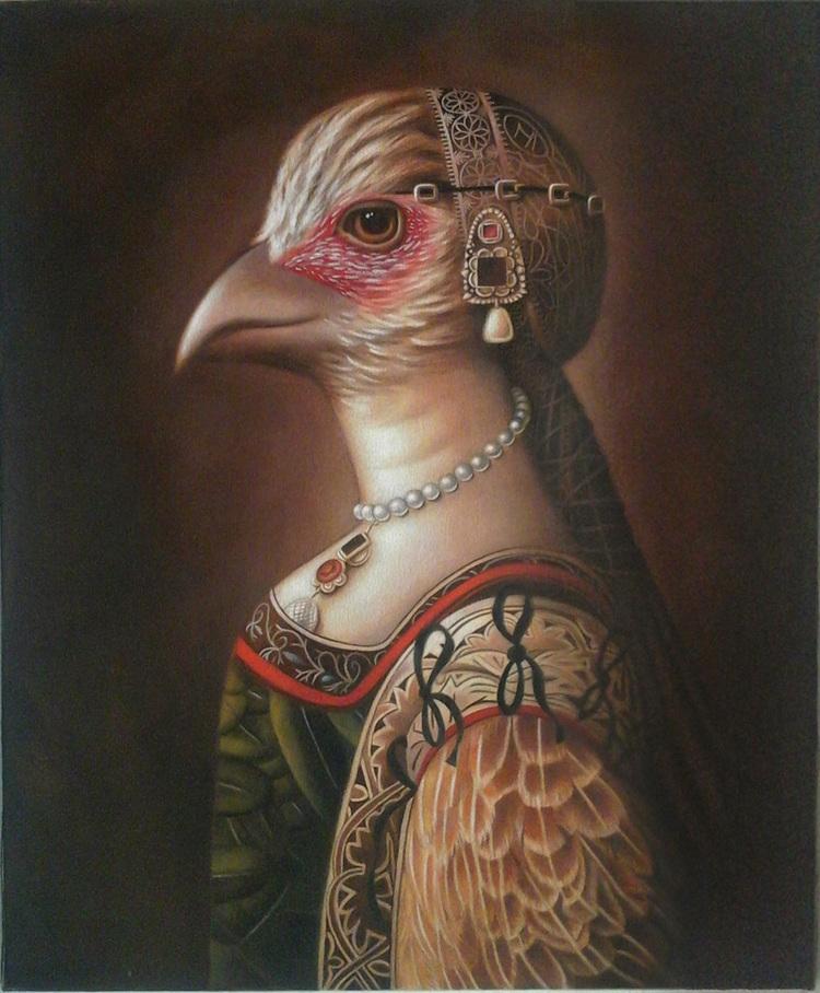 """Amy Hill, """"Brown Bird"""" (2014)"""