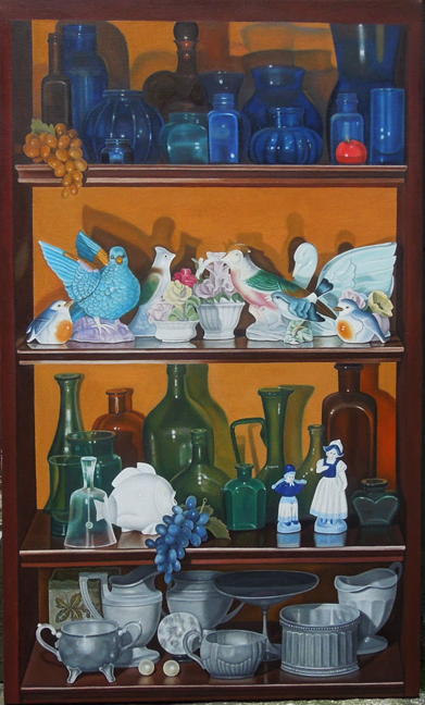 "Laura Shechter, ""4 Shelves"" (2013)"