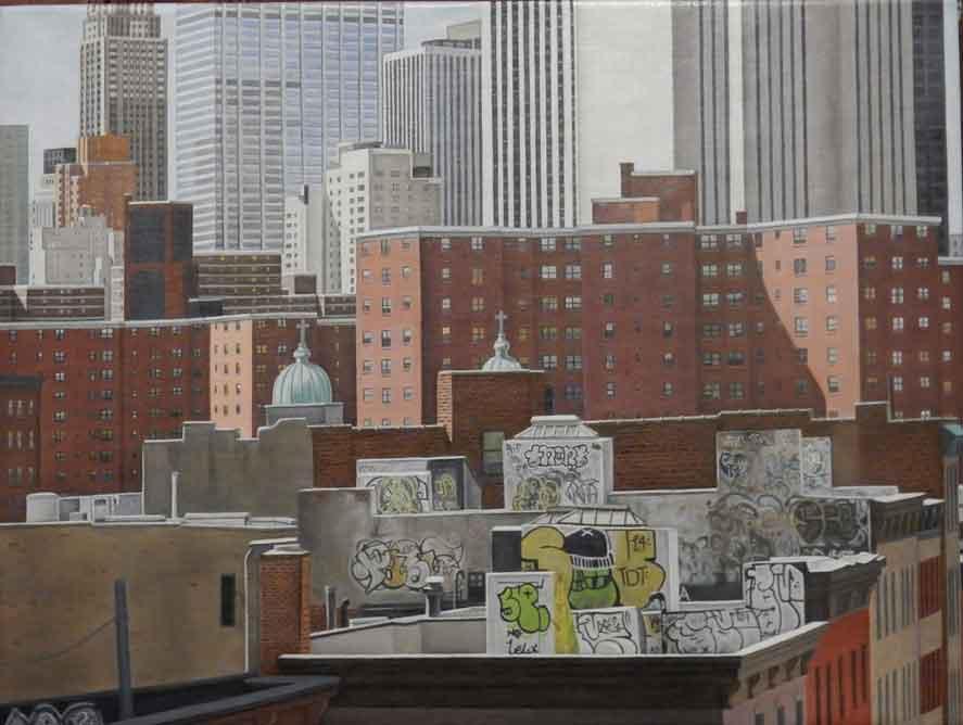 """Laura Shechter, """"Manhattan"""" (2015)"""