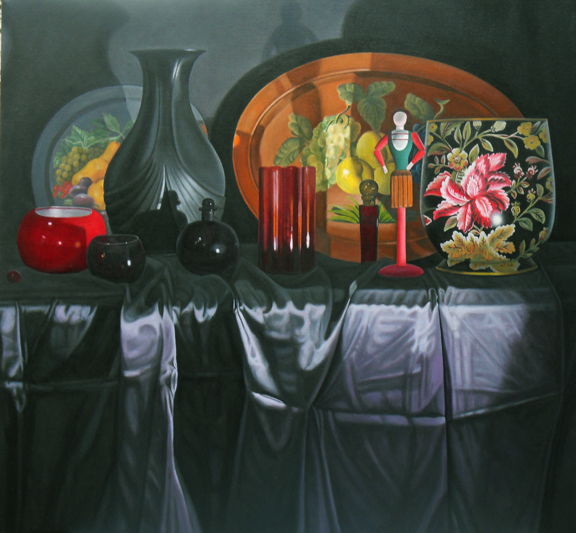 "Laura Shechter, ""Still Life with a Tray III"" (2012)"