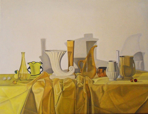 "Laura Shechter, ""Composition in Yellow"" (2011)"