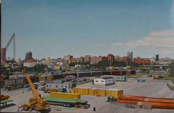 "Laura Shechter, ""View from the Willis Ave Bridge"" (2010)"