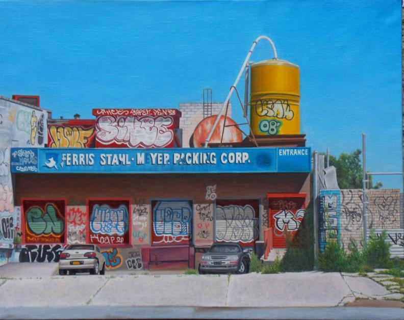 """Laura Shechter, """"FSM Packing {Bronx}"""" (2014)"""