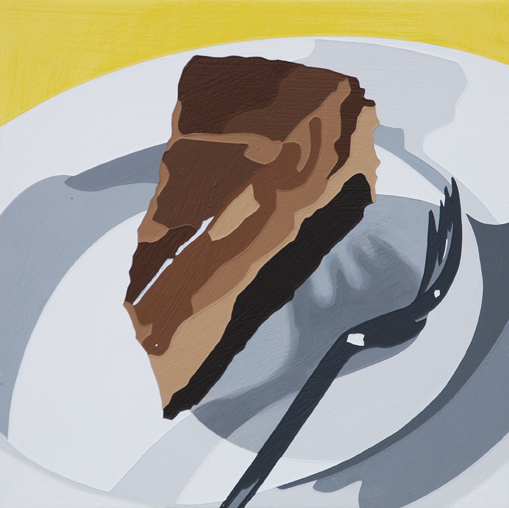 "Lori Larusso, ""Single Slice (Scary Fork Shadow)"" (2013)"