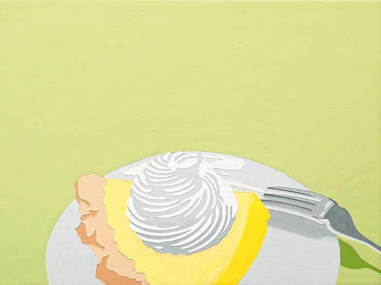 "Lori Larusso, ""Single Slice (Lemon Meringue)"" (2013)"