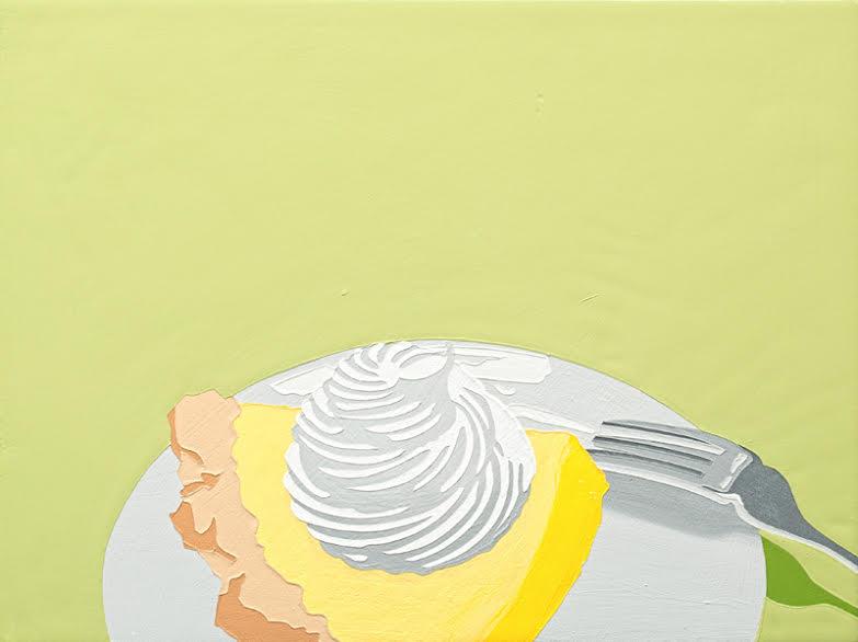"""Lori Larusso, """"Single Slice (Lemon Meringue)"""" (2013)"""