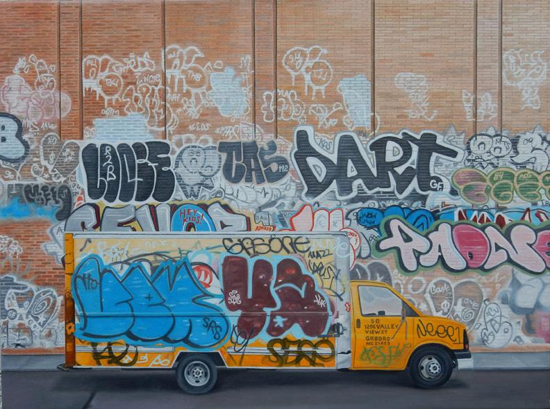 """Laura Shechter, """"D'Art II"""" (2014)"""