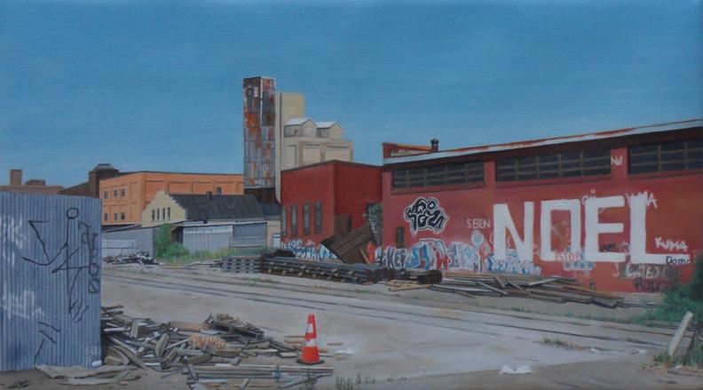 """Laura Shechter, """"Noel in Bushwick"""" (2012)"""