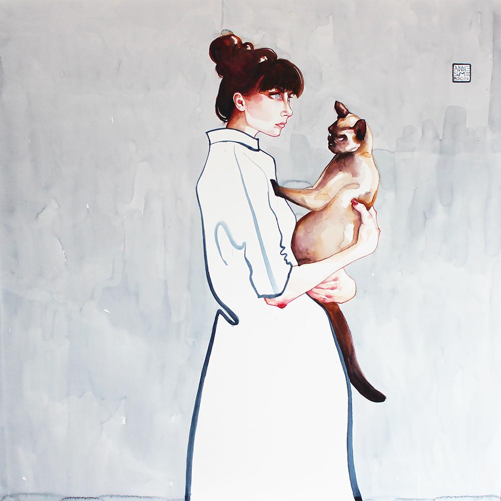 """Anne Smerdon, """"The Minimalist II"""""""
