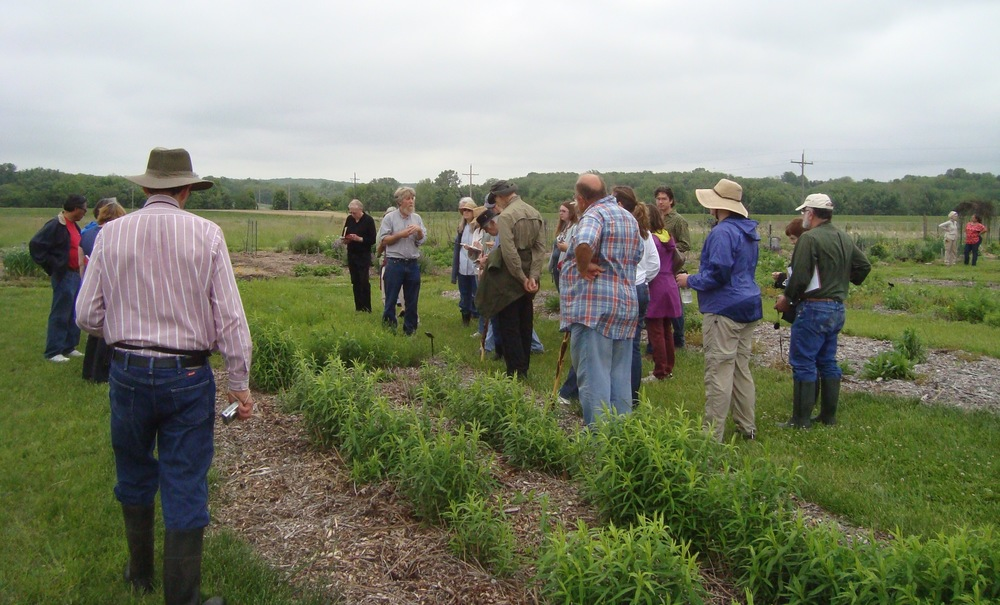 Kelly Kindscher discusses the role of fire in ethonobotanical plants of the prairie in Lawrence, KS.