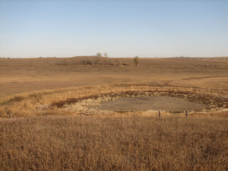 Prairie Pothole Region of North Dakota. Photo credit: Kathy Trarbach