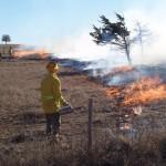 Oklahoma State University burn crew