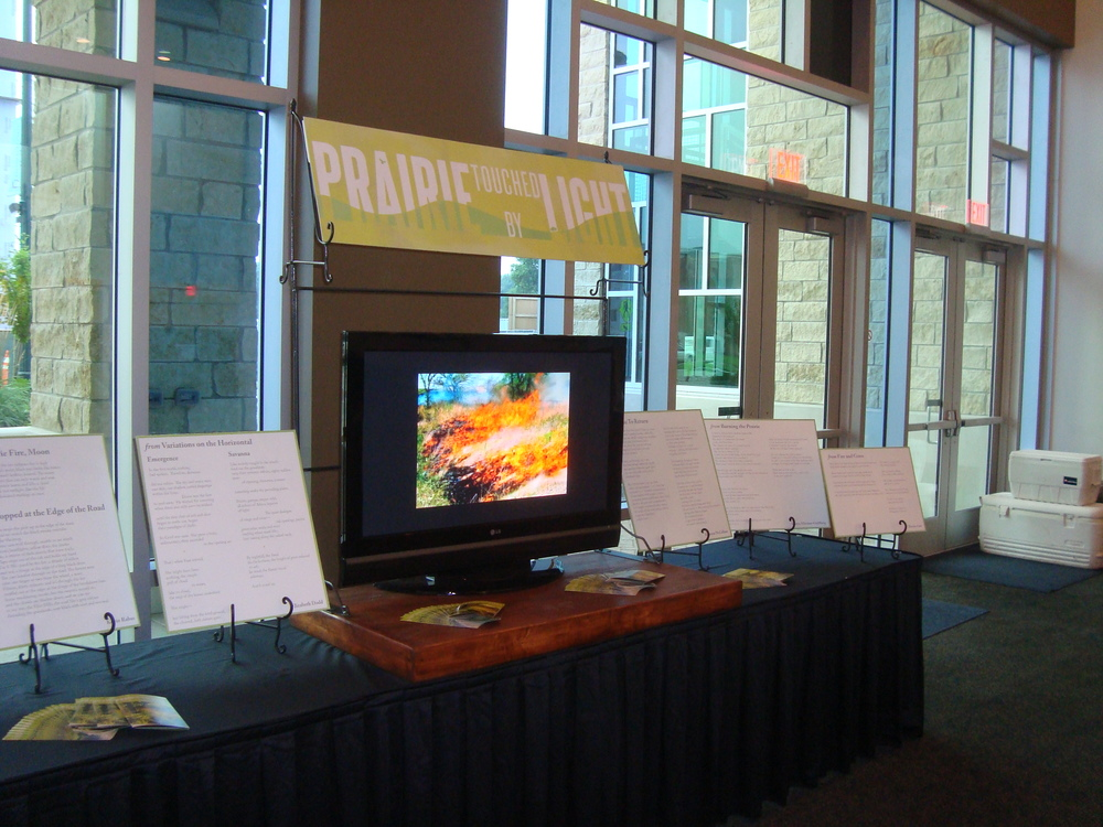 Installation at the America's Grassland conference in Manhattan, KS (2013).