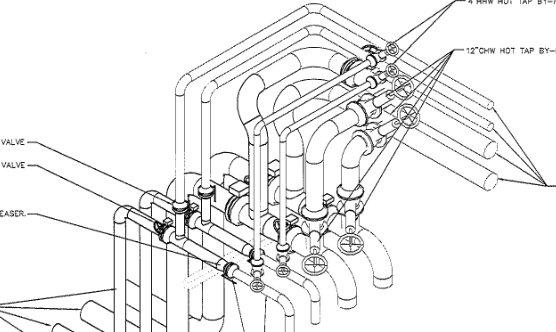 An example of a CAD drawing
