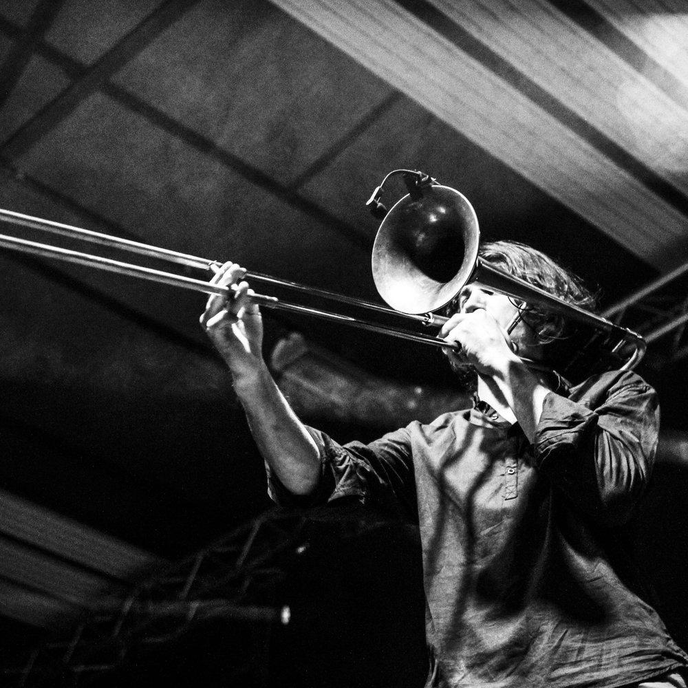 Tromboniste de jazz français