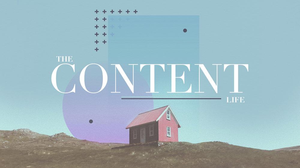 The Content Life - Week 1   The Content Life - Week 2    The Content Life - Week 3