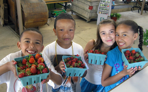 until they've visited, they might not know it, but kids love farms!