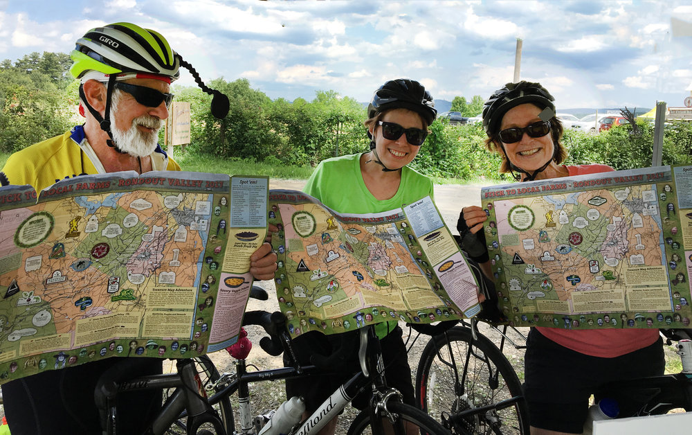 Bicycling the rondout valley is a breathtaking way to experience the beauty, history and culture here.