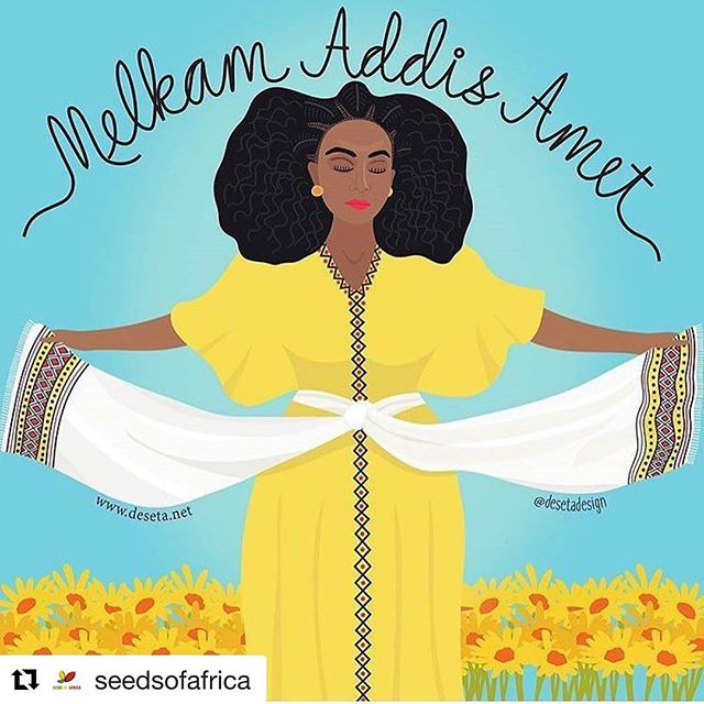 Happy New Year loves!  Today marks a new year on the Ethiopian Coptic calendar. So if you're looking for a sign to start fresh, this is it ❤️ #Repost @seedsofafrica
