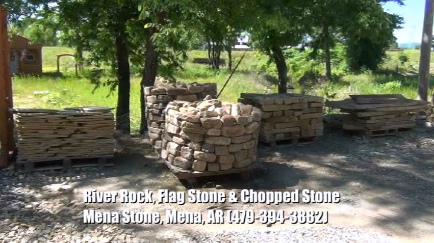 River Rocks, Flag Stones, & Chopped Stones