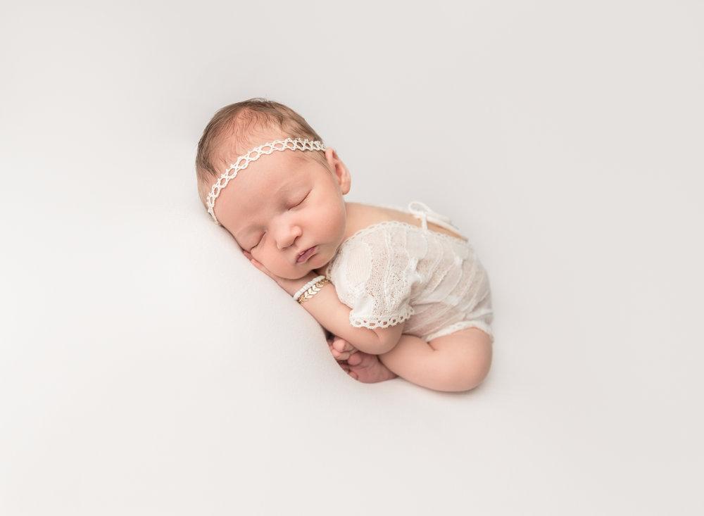 Newborn with Bracelet
