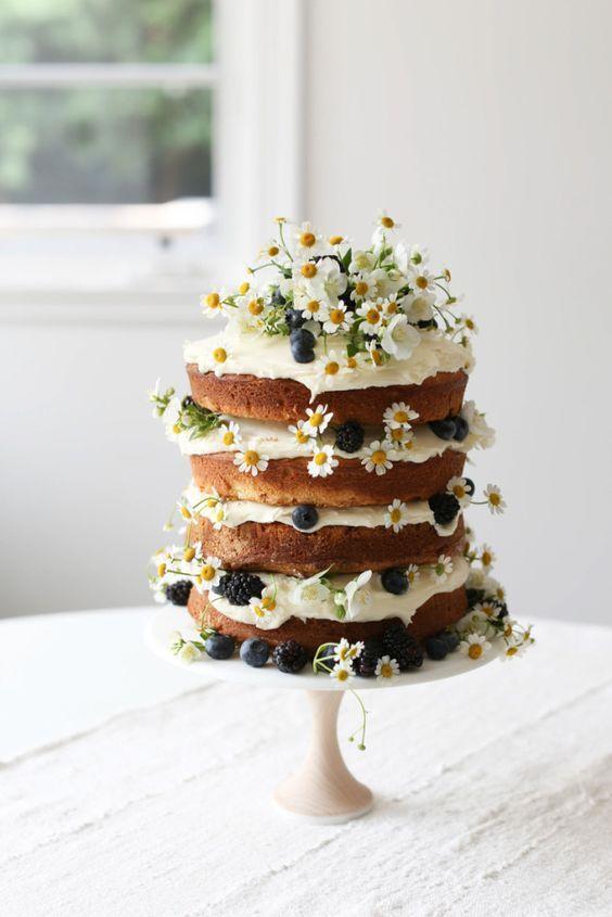 VANILLA NAKED LAYER CAKE - JENNI KAYNE