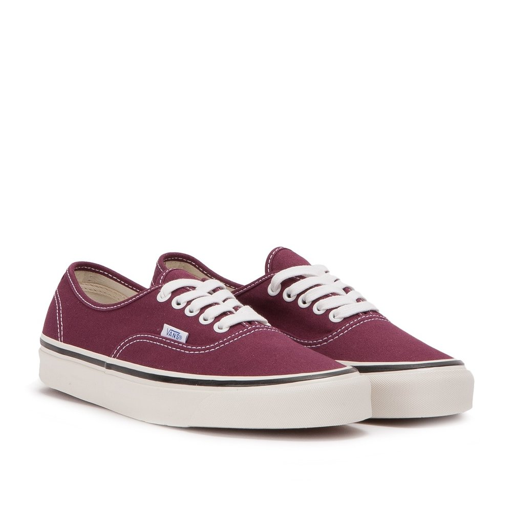 vans authentics  - During my university days, I used to have a lot of pairs of Vans but slowly got rid of them over the years. The only pair I've clung on to is my burgundy pair and I go through stages of wearing them a lot and then they'll sit on the shoe rack unloved for months. I really don't find this style very comfortable at all and they give me blisters all too easily. But when they're not giving me blisters I do love how they look paired with a casual outfit and they're a great summer dog walk shoe. Although they're not my preferred casual shoe I will say that they stand the test of time, I must have washed these 10-15 times and they're still going strong.