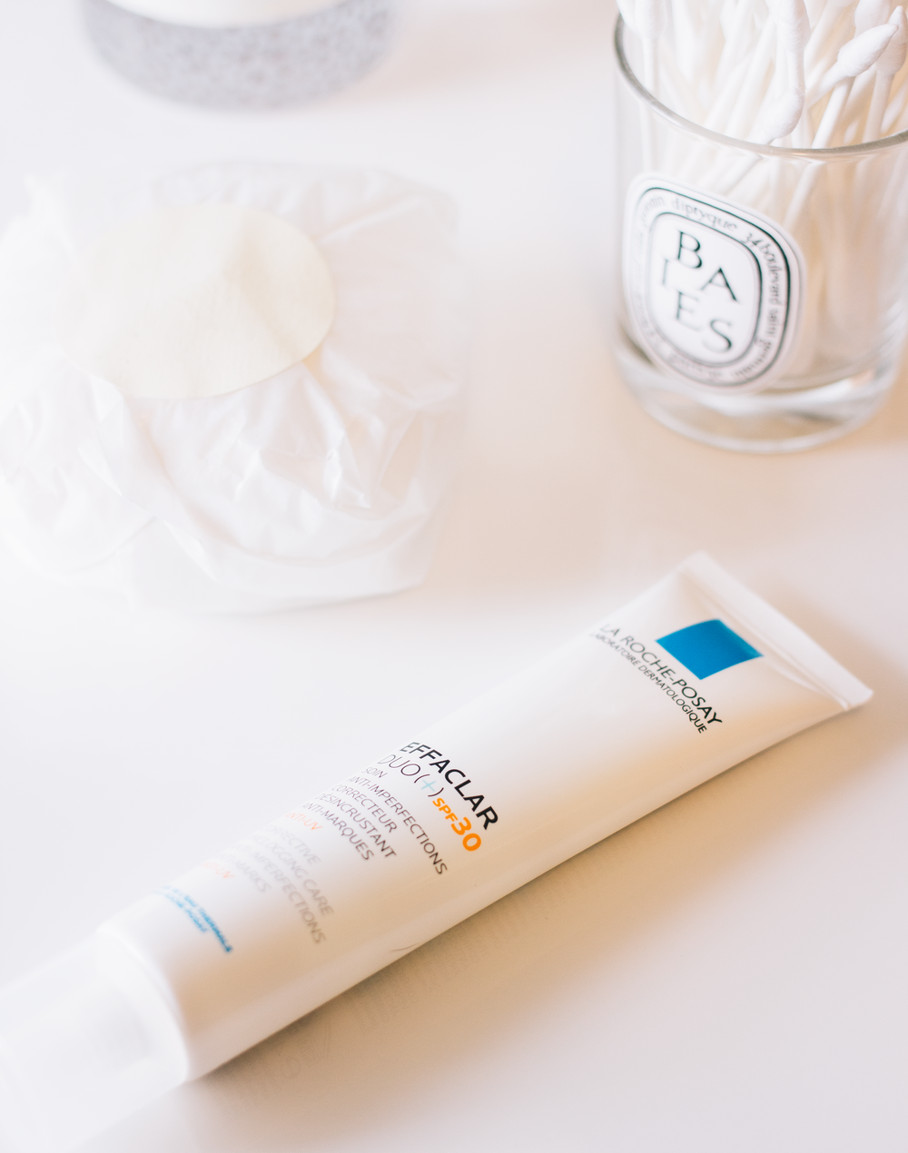 LA ROCHE POSAY EFFACLAR DUO [+]* - If you're a really long time reader of this blog, in particular, my beauty posts then you will know all about my absolute adoration for this product. It completely changed the state of my skin 5 years ago and as my skin went through its usual transitional freakout I turned back to this to see if it would still work its magic. If you're not familiar with this product it's an unclogging serum that keeps on top of everything that is coming out your pores and the formulation now not only contains SPF but it also helps tackle scaring too which when your blemish prone is an absolute must. I can't be the only one who finds scarring harder to cover up than the blemish itself can I? I will say that this is quite a marmite product and it either works wonders for your skin or it doesn't. For me it really does work, it clears everything up that might be lurking and it also really helps with any texture issues that I might have. And one of the best things about this product is that it's not horribly expensive.