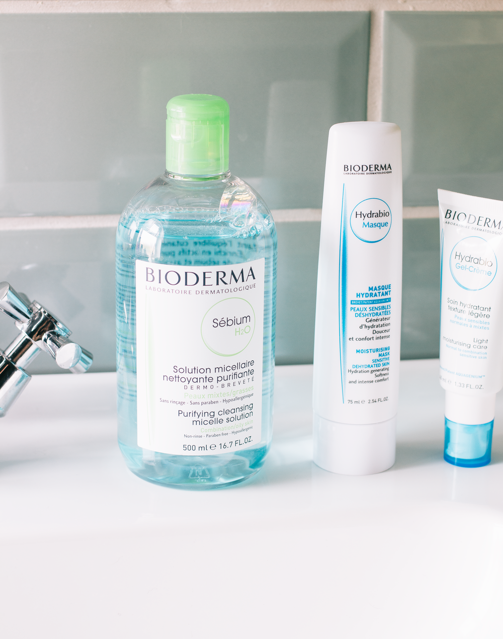 bioderma sébium h20* - Now isn't this a serious throwback for this blog? This is one of the first skincare items I ever used so it's been so exciting to add it back into my routine to see how it fairs to it now as obviously your skin can change a serious amount in 6 years. For a quick refresh in a morning or in the evening before I properly wash my face a cotton wool round doused in this is great when I'm feeling a little more spotty. Which is inevitable when I eat a perhaps too many strawberry & orange creams as well as some of those delicious caramel barrels. If you're a little more oily or have combination skin than this formulation of the classic micellar solution is a great option during this season where you more than likely don't have the energy to stand over the sink past midnight It gets rid of anything you have on the skin (please do be careful when using around the eye area) without leaving my complexion feeling stripped or dry as even though I have oily areas I want to feel balanced rather than parched. And even though this helps my skin feel balanced when I do have a pesky white head pop up this certainly helps calm it down as they can certainly be angry when they erupt.