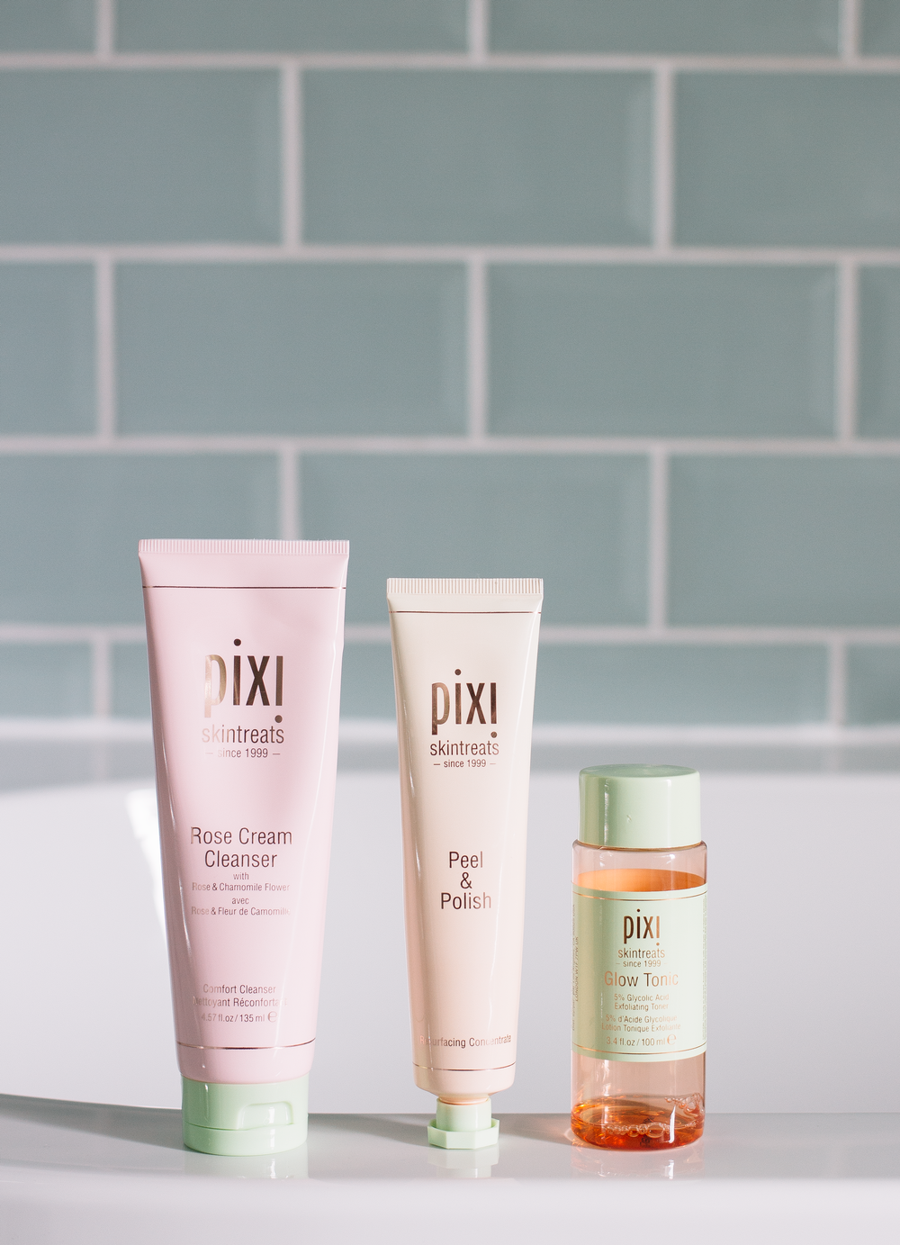 pixi - The Pixi Glow Tonic (gifted) is a product that I've used maybe 15 or so bottles of? We're talking a serious long term love affair here. It was one of the first glycolic toners I used, adored and it's still one I use to this day. When I first starting using Pixi products there wasn't a huge amount available but over the past 6 or so years the line has grown and now there are so many gems on offer. It's incredibly rare that this happens but I don't think there is a product that I've not got on with that I've tried. Everything from cleansers, toners, treatments, and masks are all brilliant and again I find Pixi sits at a really comfortable price point for me. And Pixi not only do brilliant skincare but they also do makeup too, granted I'm not as crazy about their makeup as I am their skincare but they still have some beautiful items on offer. Right now I'm seriously enjoying their Glow Tonic, obviously but I'm also using the Rose Cream Cleanser (gifted). A new product in my rotation and one I'm seriously enjoying. This works well in the AM for a quick refresh as well as a second cleanse in the evening to remove any makeup remnants as well as hydrating and comforting the complexion. And if you're not a huge fan of rose then don't worry because this isn't overly scented, of course, it smells of roses but it's the good kind, not the makes you want to vomit kind.