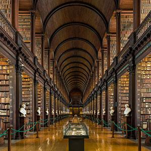 Long Room Interior-Trinity College, Dublin