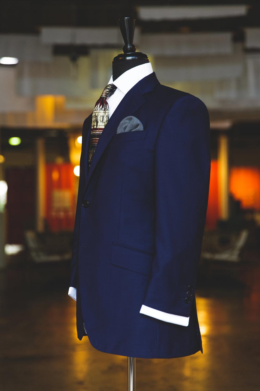 navy blue mannequin
