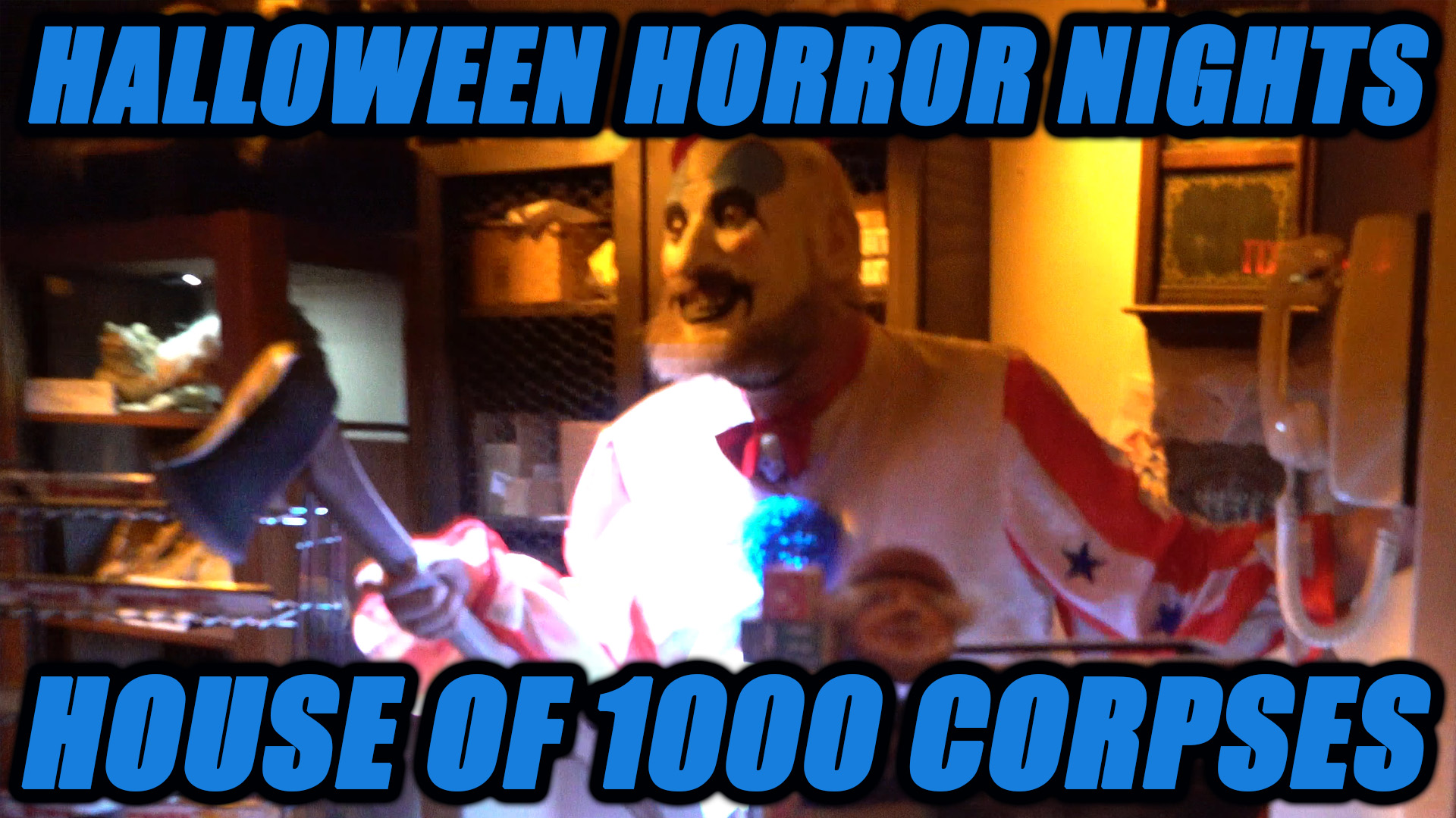 House Of 1000 Corpses Halloween Horror Nights Attraction Faction