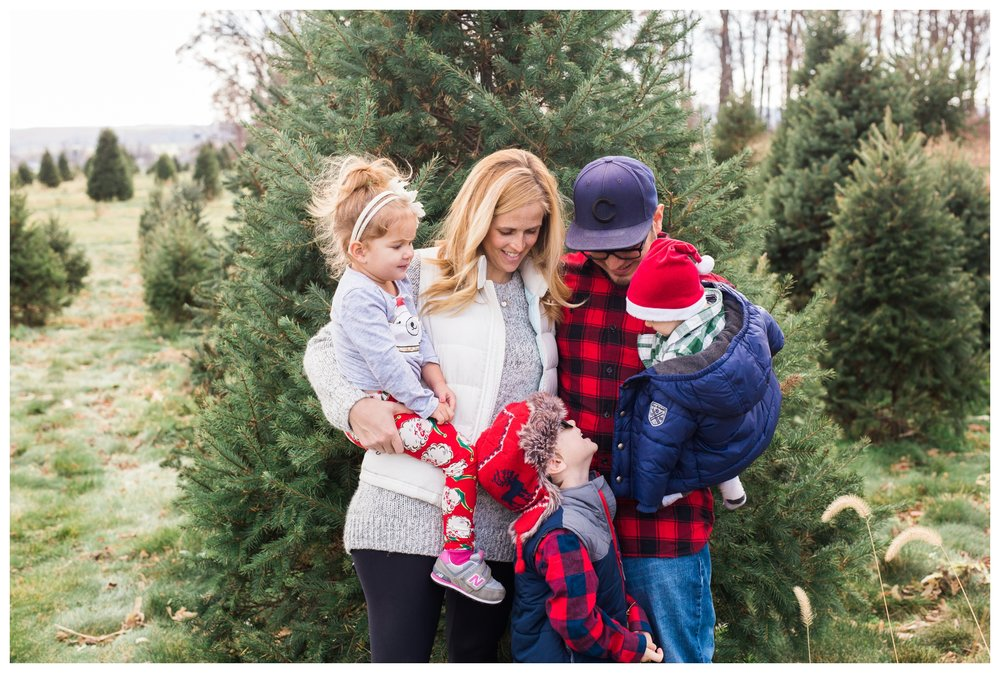 The Archuleta Family | Family Session | Miller's Christmas Tree Farm ...
