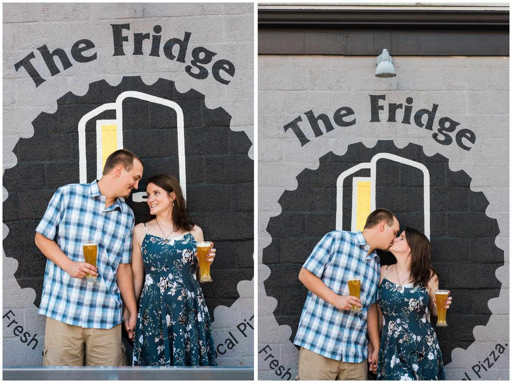 emily grace photo, lancaster, pa - downtown lancaster engagement photos