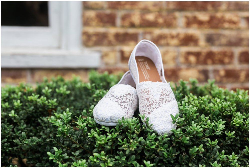 Emily Grace Photography, Lancaster PA Wedding Photographer, Meredith Manor Wedding, Toms Shoes