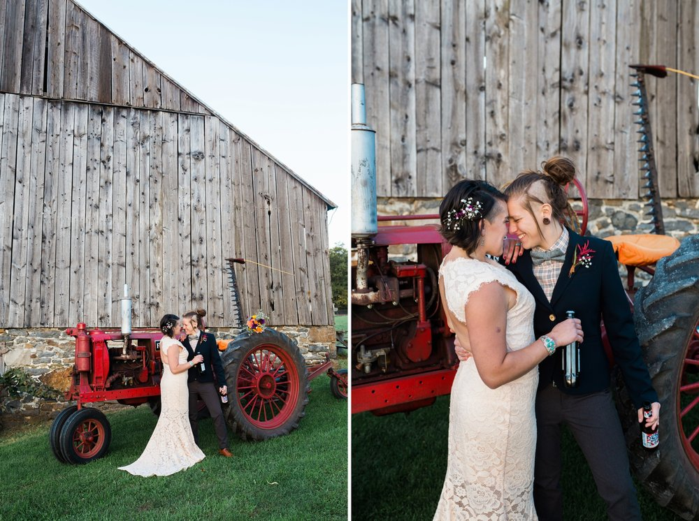 Emily Grace Photography Lancaster PA Same Sex Wedding Photographer