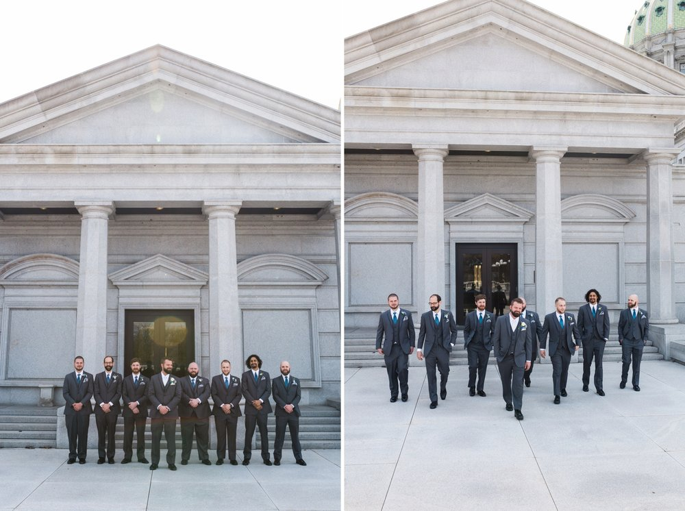 Emily Grace Photography, Harrisburg Wedding Photographer, Harrisburg Capitol Rotunda Wedding